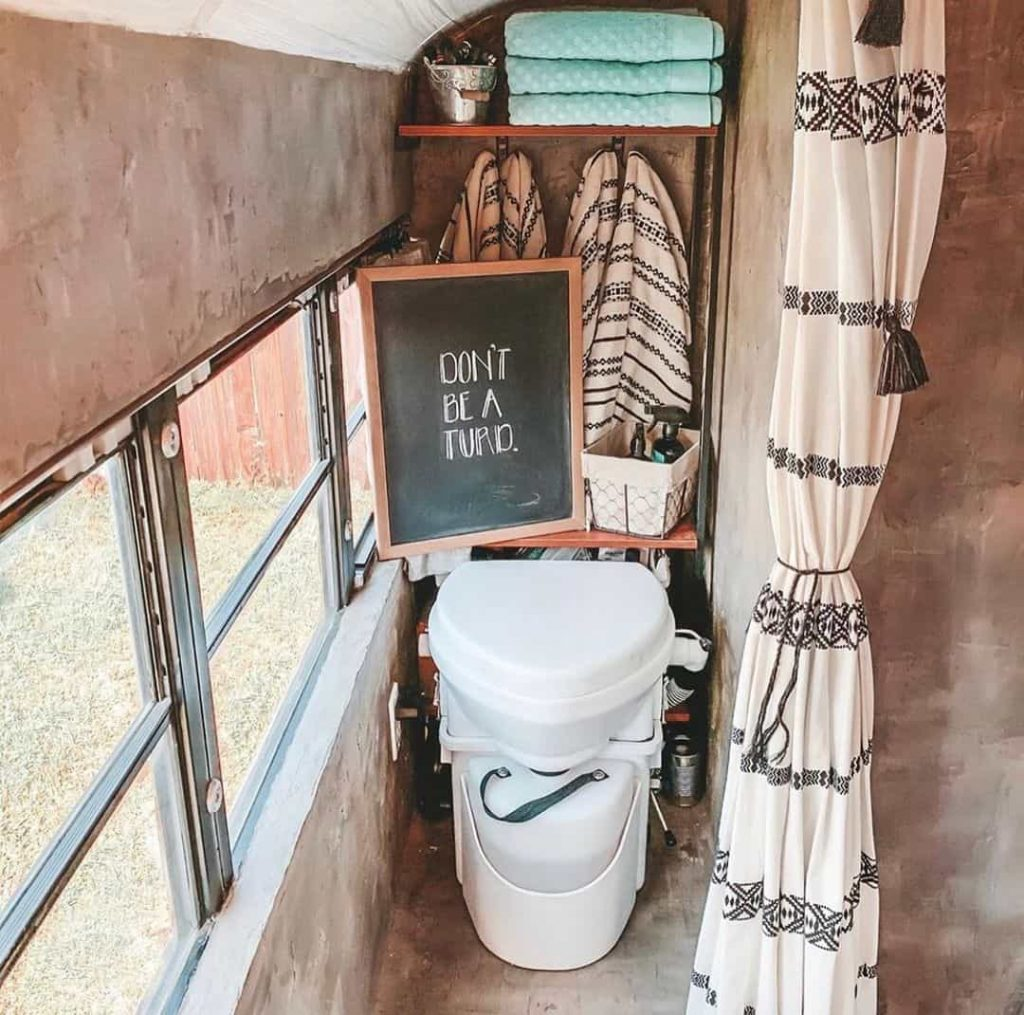 composting toilet for campers