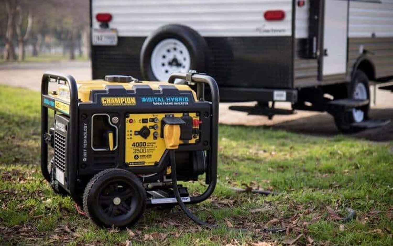 How to quiet generator for camping
