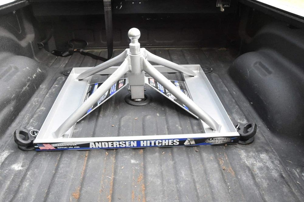 removable 5th wheel hitch