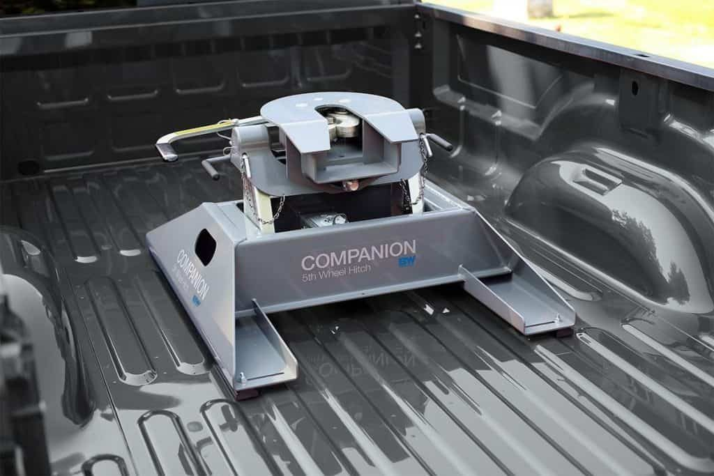 easy removable 5th wheel hitch