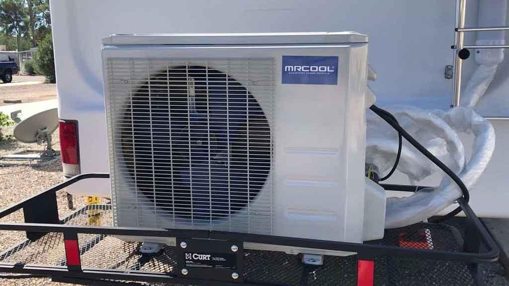 RV AC fan won't work