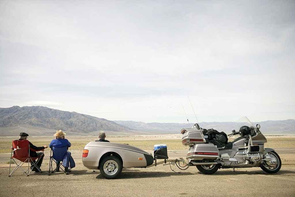 motorcycle rv trailer