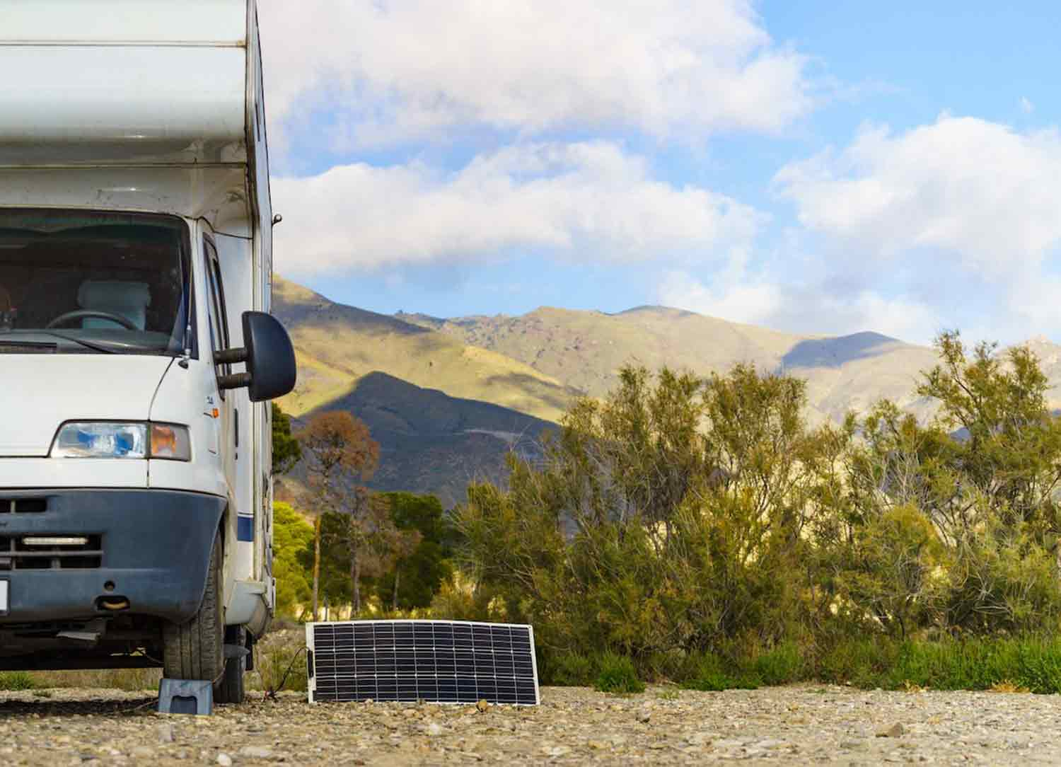 rv solar battery charger