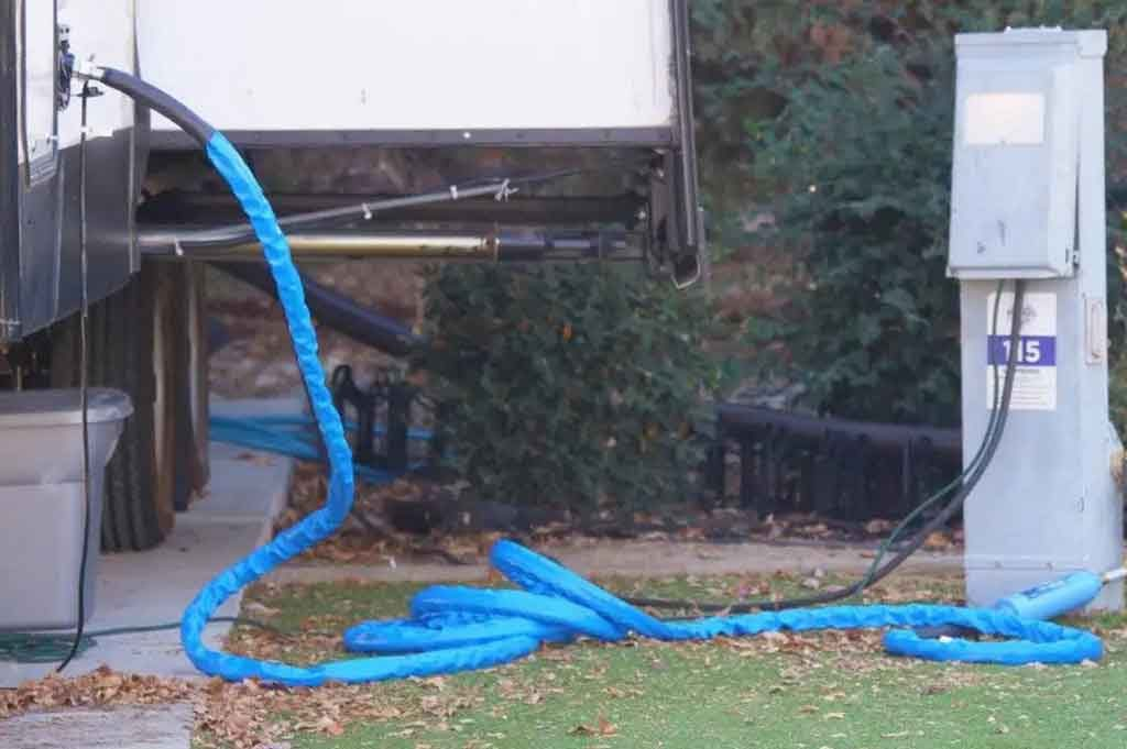 heated water hose for rv