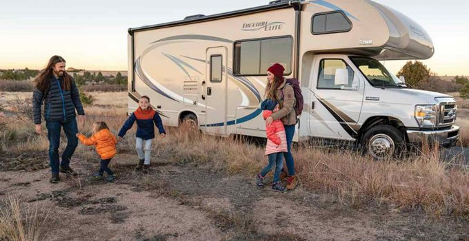 living in an rv with kids