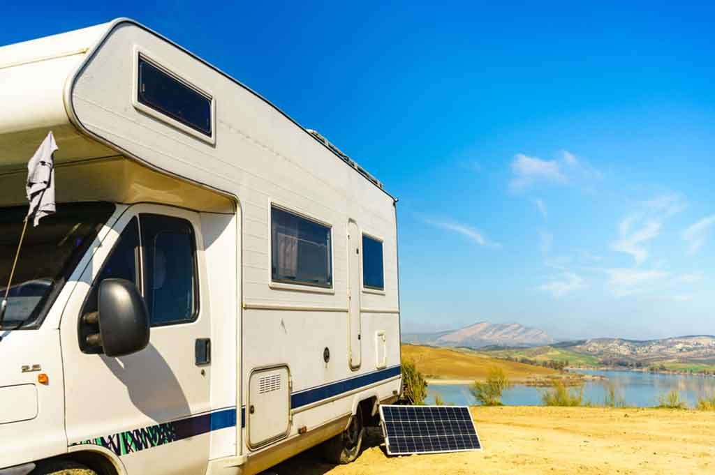 rv solar battery charger kits
