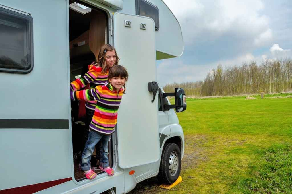Is it legal to live in an RV with a child