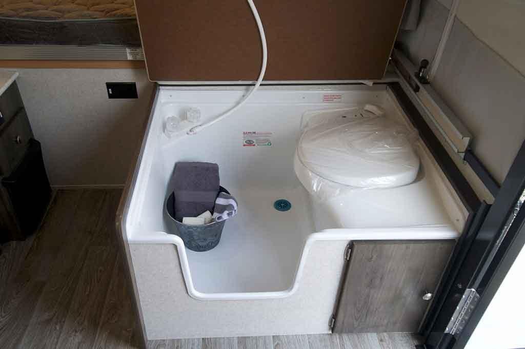 all in one bathroom unit