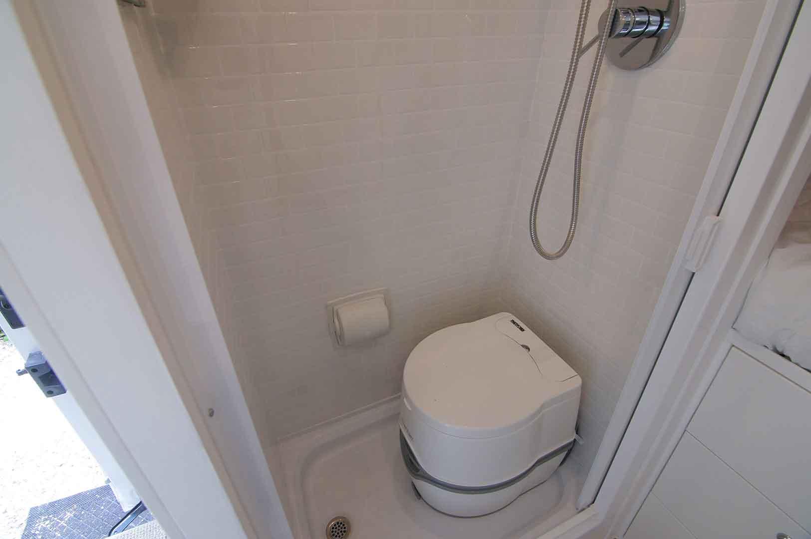 rv shower toilet combo